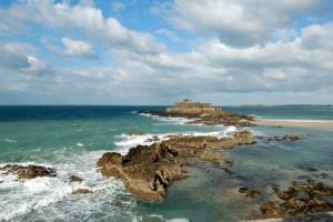 Terres de Bretagne - Saint Malo - la marée Valérie Moulin
