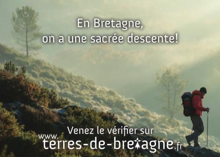 Terres de Bretagne - En Bretagne on a une sacrée descente