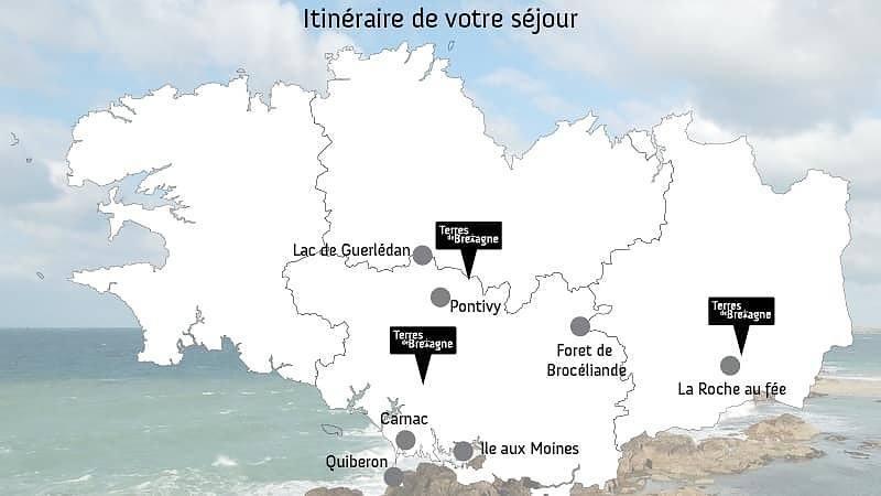 Au coeur des légendes bretonnes : Carnac, Brocéliande et Guerlédan