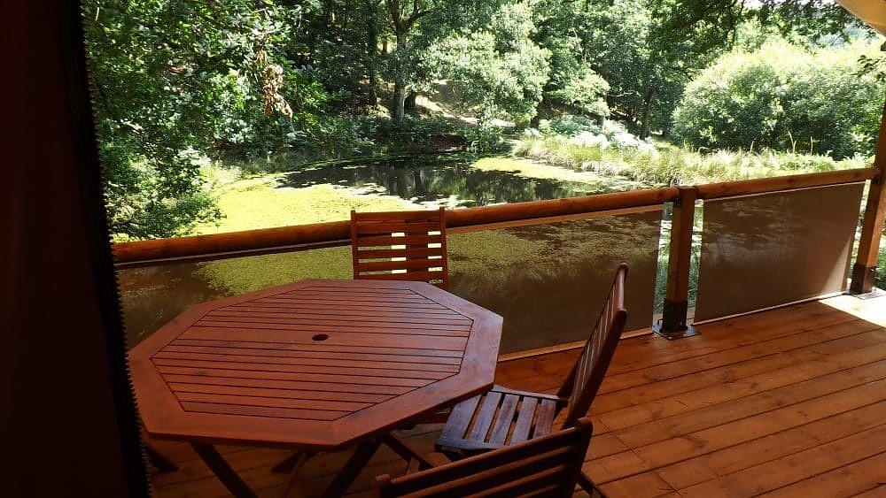 Séjour en famille nature en bungalow Terres de Bretagne