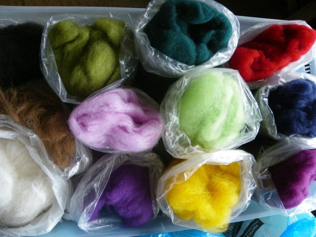 Week-end créatif autour de la laine