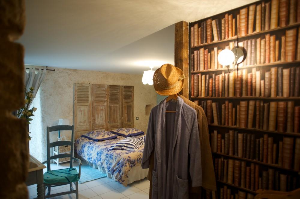 Aux greniers à rêve - une chambre accéssible handicapé ©Gérard Rouxel